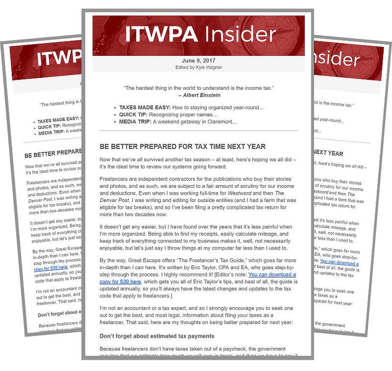 ITWPA Insider